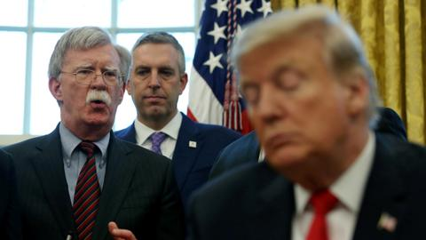 Bolton's claims cast a shadow on Trump impeachment