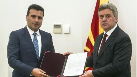 Macedonian president hands opposition the mandate to form government