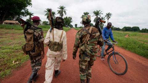 50 killed in militia clashes in Central African Republic town