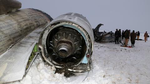 US recovers remains from Afghanistan jet crash - defence official