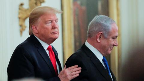 Trump's 'peace deal' upends 30 years of the US' Palestine-Israel policy