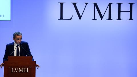 Luxury group LVMH posts record annual sales of $59 billion