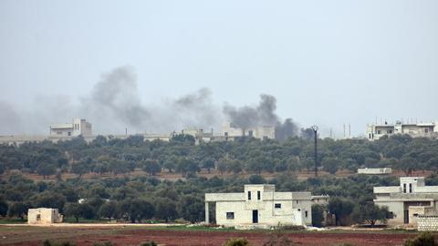 Syrian regime forces fully capture key town in rebel-held Idlib province