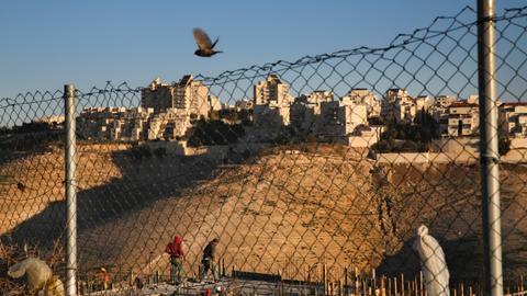US tells Israel it opposes Jewish settlements