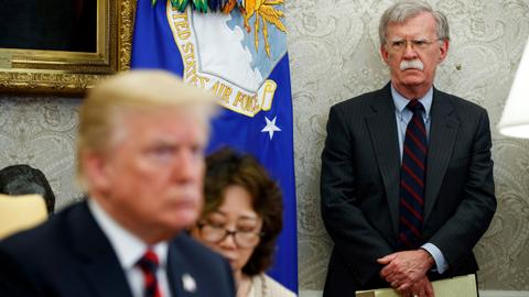 Trump lashes out at Bolton as impeachment trial enters new phase