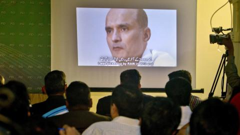 UN court stays Pakistan's execution of Indian spy
