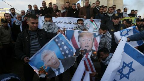 Will Trump's 'peace plan' compel Palestinians to start another intifada?