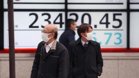China virus outbreak hits global stocks and oil markets