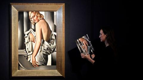 Lempicka's portrait expected to fetch up to $16M at London auction