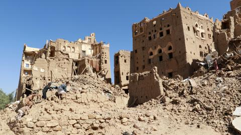 UN Security Council urges immediate end to fighting in Yemen