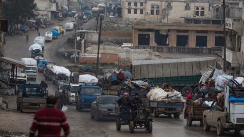 International crisis looms as 700,000 flee Syria's Idlib - US envoy