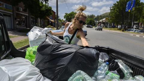Uruguayan project uses virtual money to encourage plastic recycling