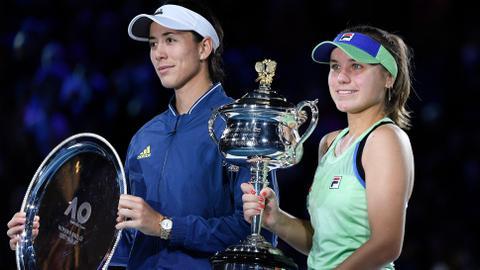 Tennis: Kenin stuns Muguruza to win Australian Open title