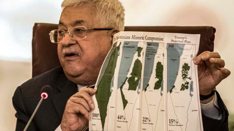 Palestinians cut 'all ties' with Israel, US
