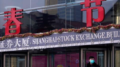 Virus worries wipe $420 bln off China's stock market
