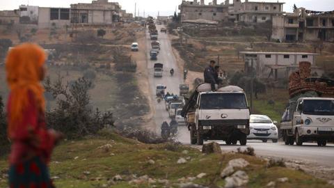 Humanitarian crisis in Idlib: Russia and Assad seek to break the revolution