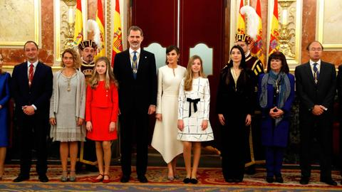 Spanish separatist lawmakers blast 'anachronistic' monarchy