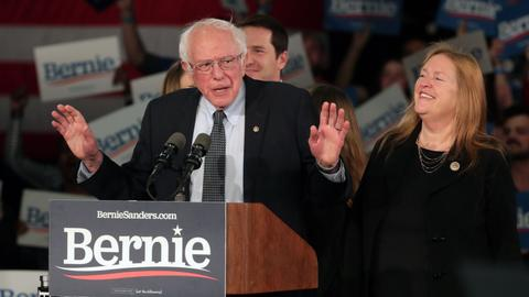 Sanders claims victory as Iowa caucus results delayed