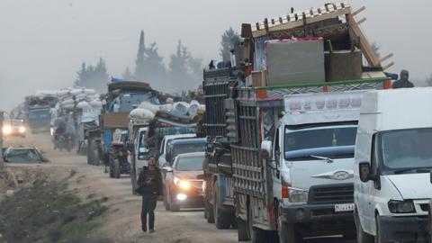 Northwest Syria violence displaces 500,000 in two months – UN