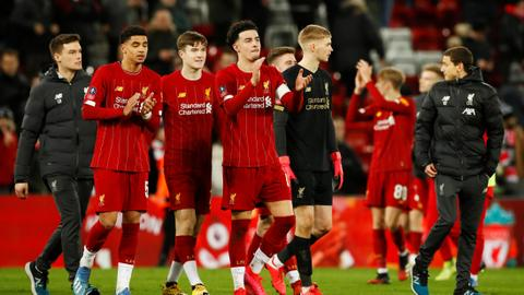 Liverpool's kids win FA Cup replay with Klopp absent