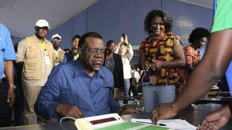 Namibia court upholds results of presidential election