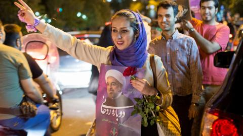 Rouhani wins re-election in Iran