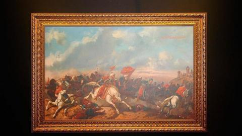 Sultan Abdulaziz's paintings to be displayed in Paris