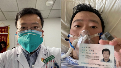 Whistleblower China doctor 'dies from coronavirus'