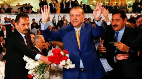 Erdogan reinstated as AK Party chairman