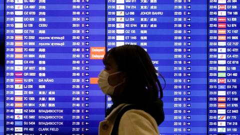 Airlines suspend China flights due to coronavirus outbreak