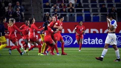 Canada beat Costa Rica to book Olympic women's football berth
