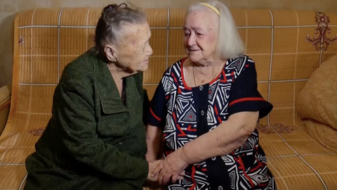Russian sisters separated during WWII reunited after 78 years
