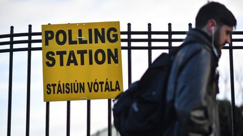 Three-way tie in Irish general election: exit poll