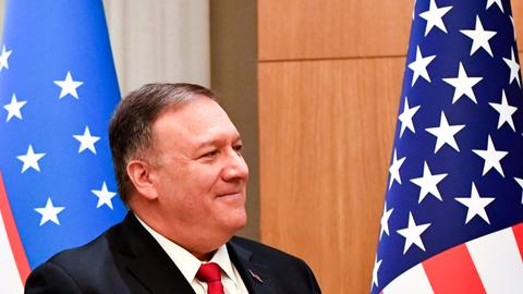 Pompeo warns nation's governors to be wary of China