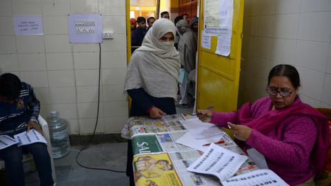 Exit polls for New Delhi election predict defeat for Modi's BJP
