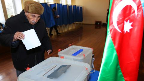 Voters choose new parliament in Azerbaijan snap polls