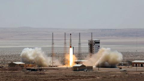 Iran satellite 'successfully' launched without reaching orbit