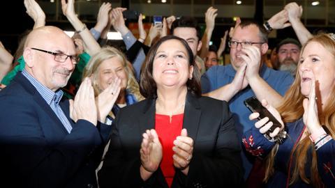 Sinn Fein seeks place in Irish govt after electoral 'revolution'