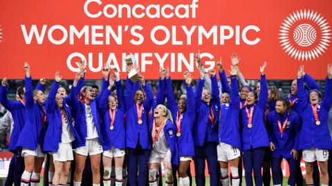 US women beat Canada 3-0 in Olympic qualifying final