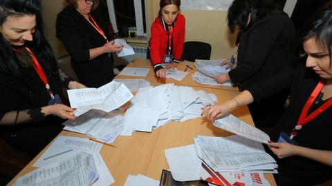 Azerbaijan's governing party leads in snap parliamentary vote - CEC