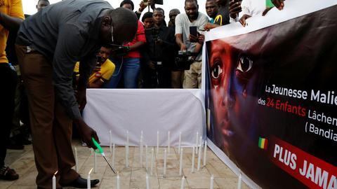 HRW urges Mali to investigate massacres