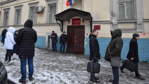 Barrage of mysterious bomb hoaxes plagues Moscow