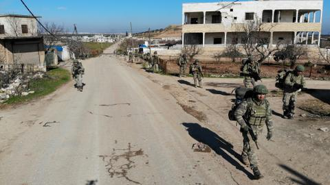 Regime attack kills five Turkish soldiers in Syria's Idlib