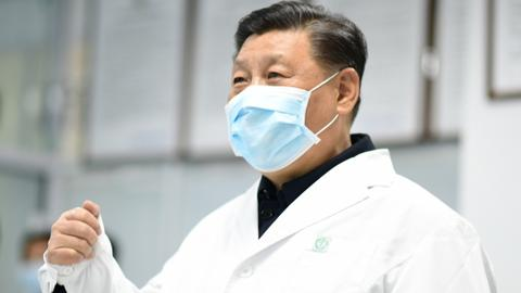 China virus toll passes 1,000 as president visits frontline hospital