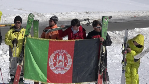 In pictures: A ski festival brings hope of peace in Afghanistan