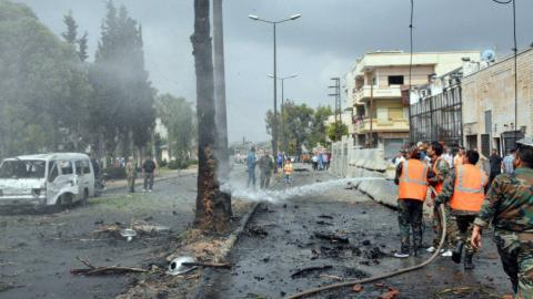 Car bomb kills four people in Syria's Homs
