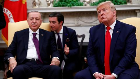 Erdogan, Trump discuss ways to end crisis in Syria's Idlib