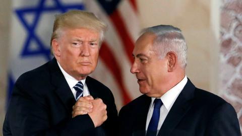 Finkelstein calls Trump's Israel visit