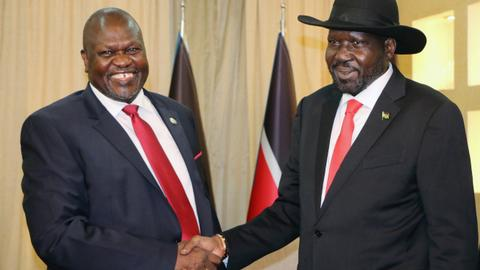 S Sudan's Machar rejects President Kiir's peace deal