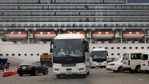 Virus spreads on cruise ship in Japan, US passengers flying home